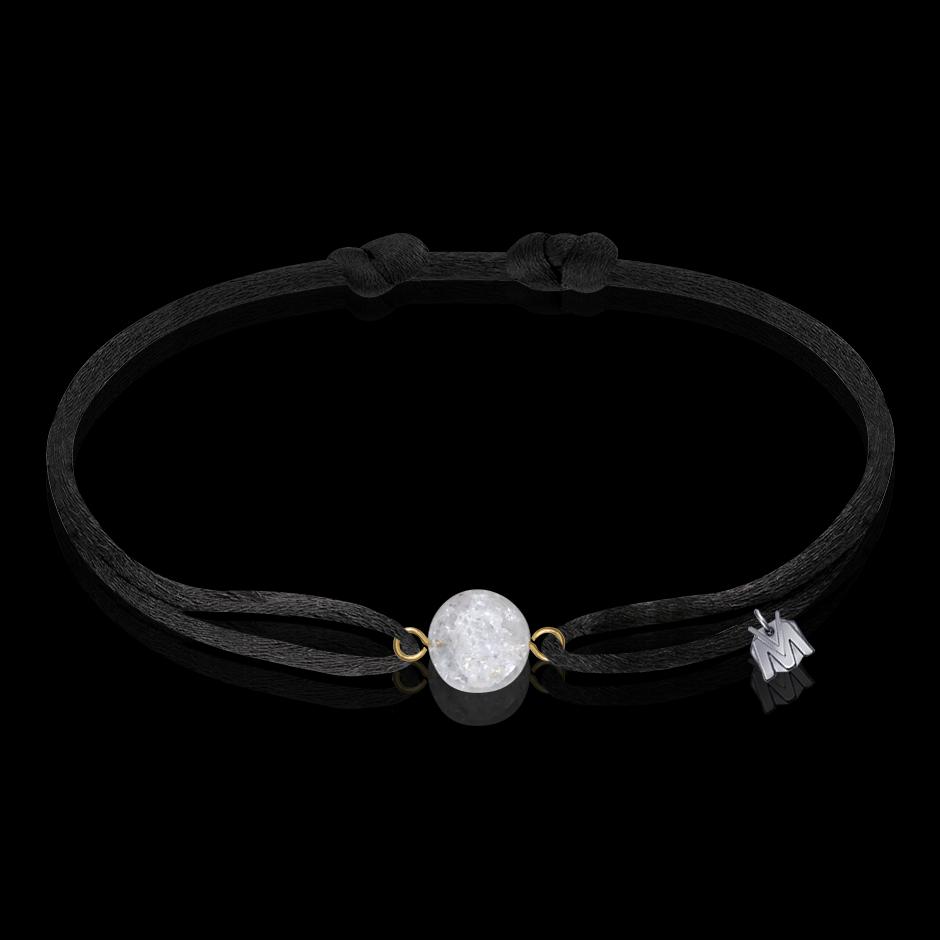 bracelet perle de cristal de roche homme et femme