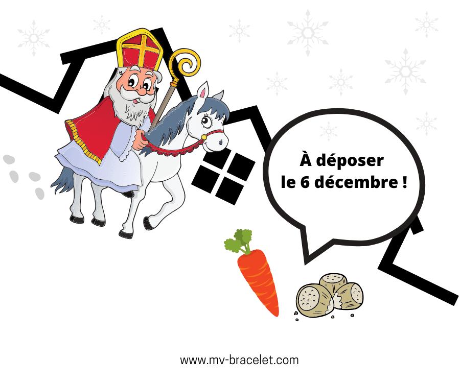 saint Nicolas le 6 decembre