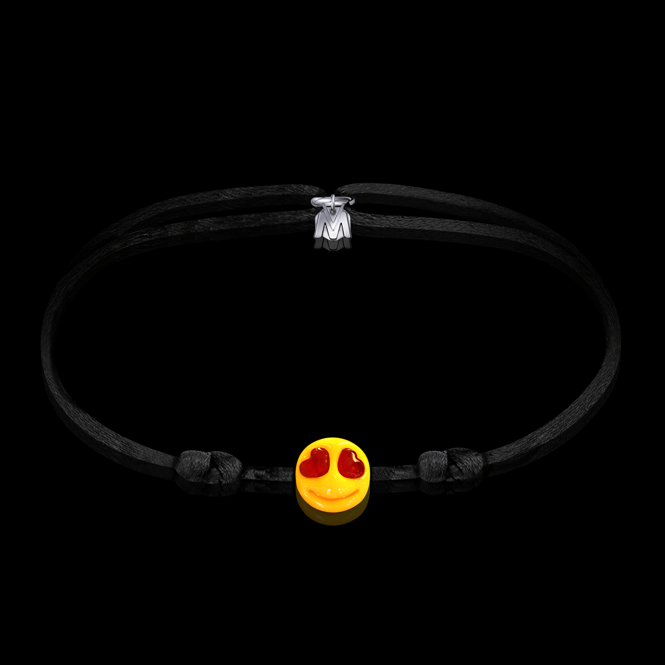 bracelet-smiley-je-taime-folie