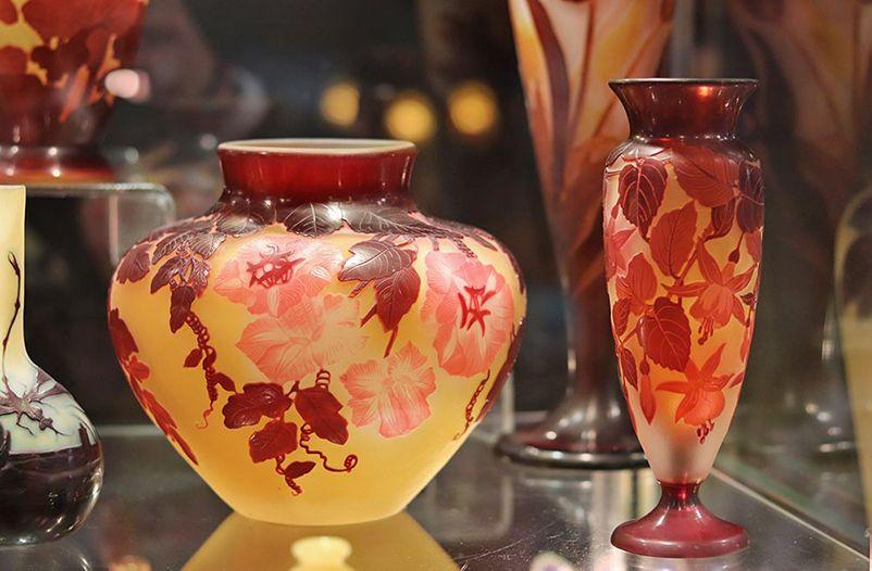 comment authentifier un vrai d'un faux vase Galle