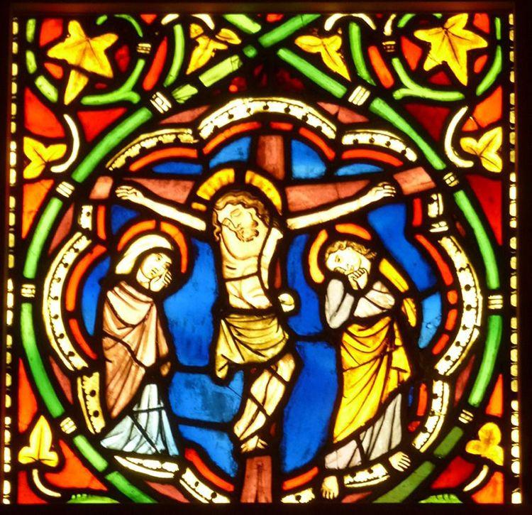 histoire des vitraux de la crucifixion de Strasbourg