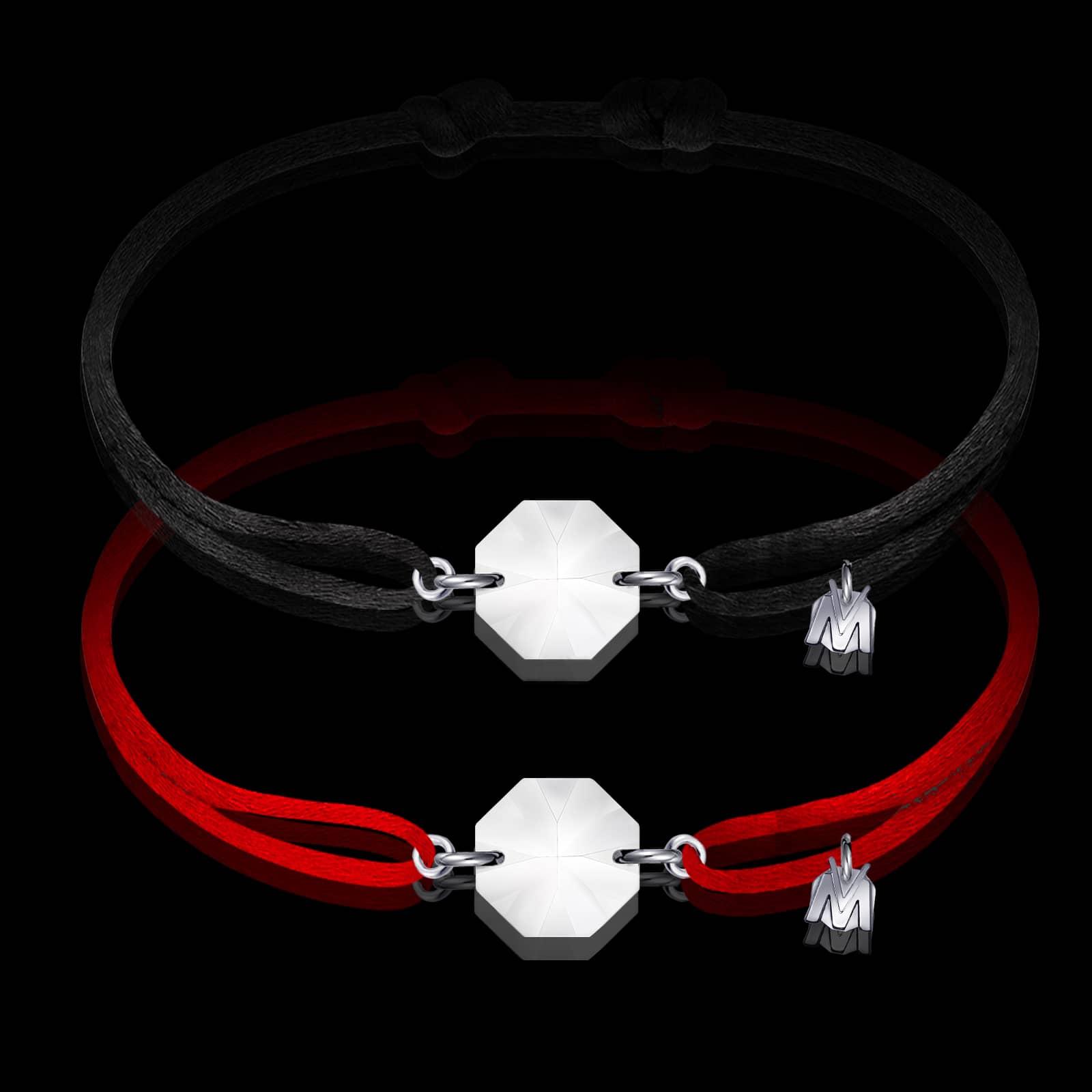 bracelet-rock-cristal-clair-rouge-noir-cordon