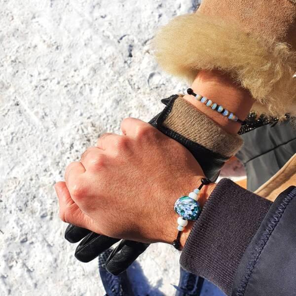 bracelet-perles-pate-de-verre-michael-vessiere