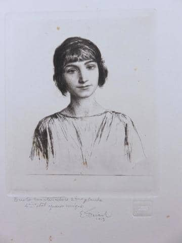 Emile-FRIANT-Buste-Montmartois-1913