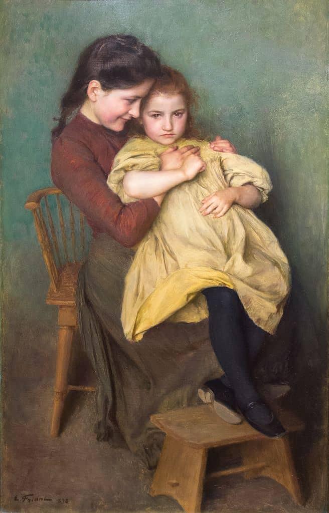 Emile-FRIANT-Chagrin-enfant-1898