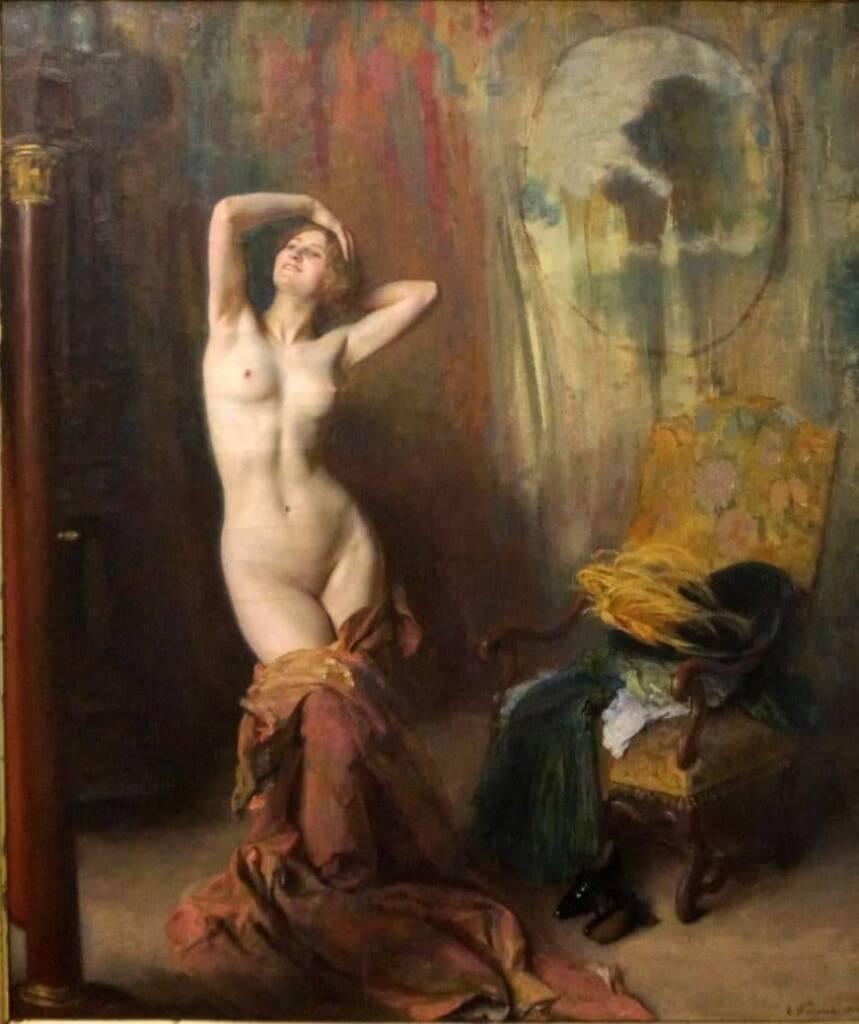 Emile-FRIANT-Devan-la-psyche-1912