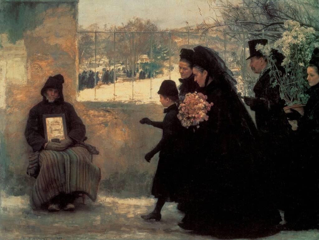 Emile-FRIANT-La-Toussaint-1888