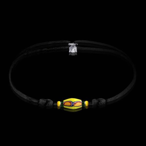 bracelet-mango-murano-sur-cordon