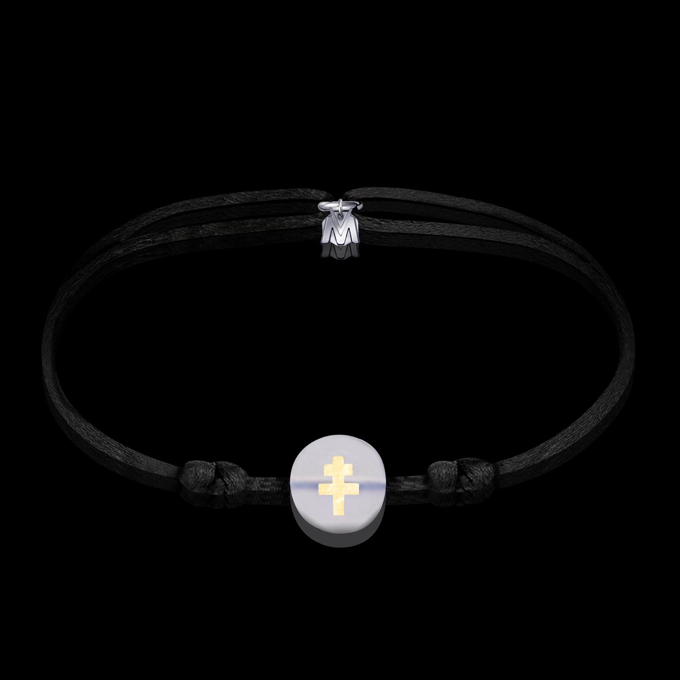 bracelet-croix-de-lorraine-verre-incolore