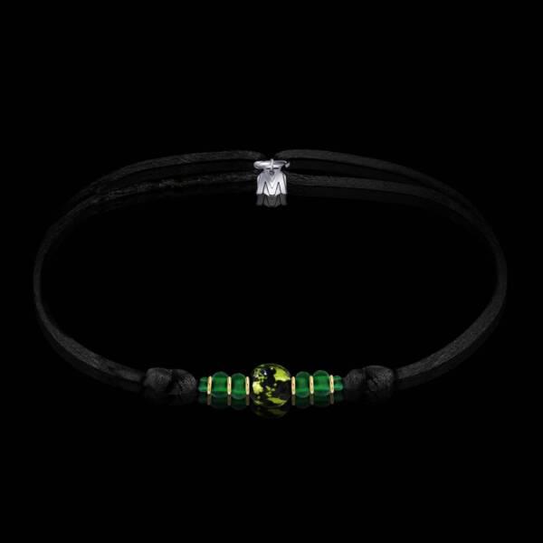 bracelet-emeraude-verre-de-murano-cordon