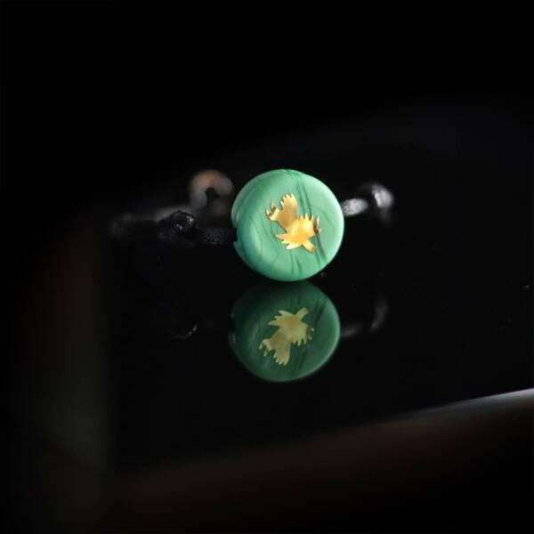 bracelet-chardon-lorrain-vert