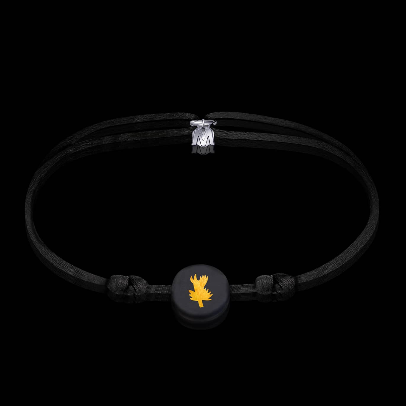 bracelet-chardon-verre-noir-cordon