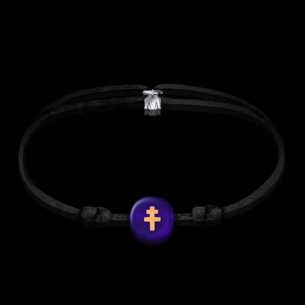bracelet-croix-de-lorraine-perle-bleu-translucide