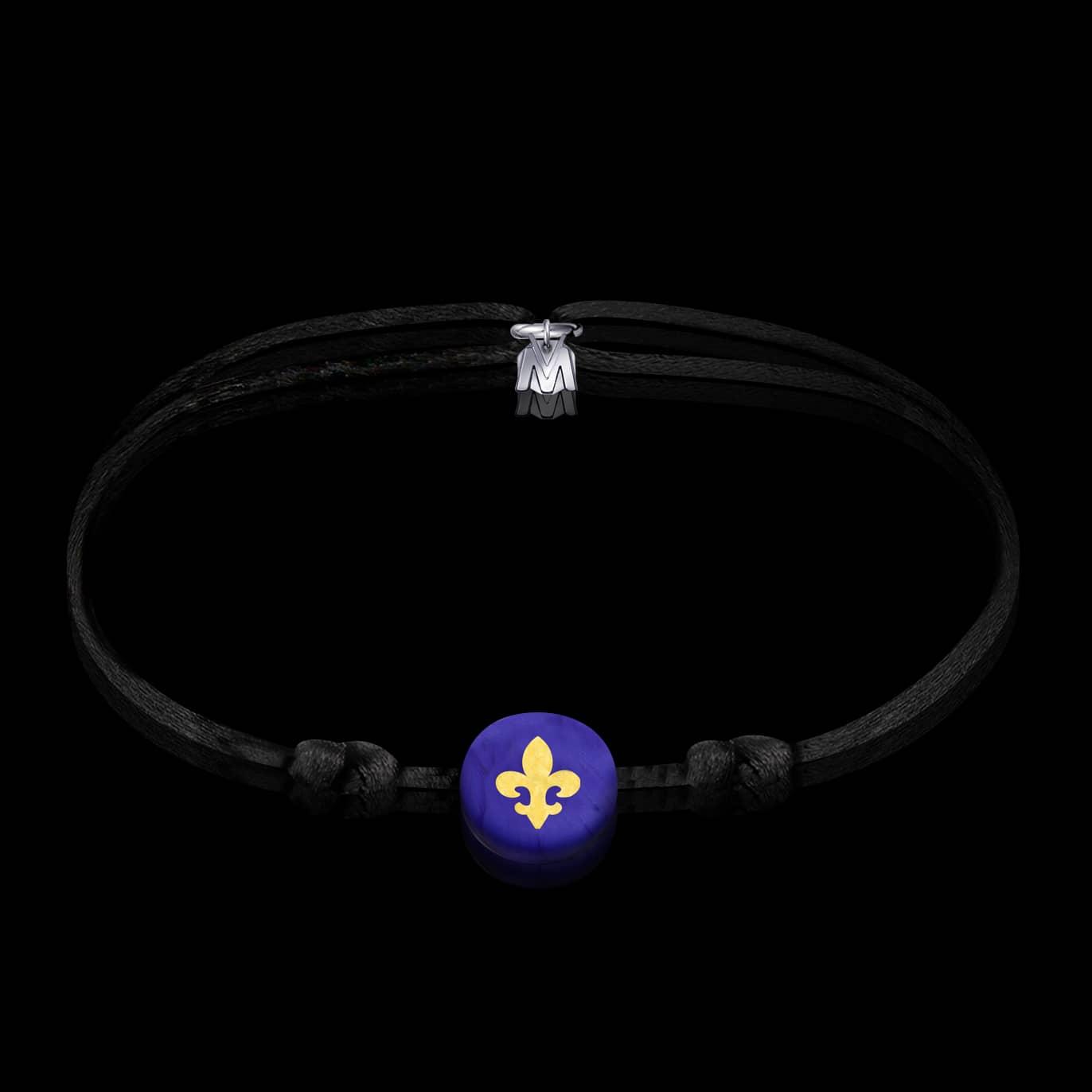 bracelet-fleur-de-lys-verre-chalumeau-cordon
